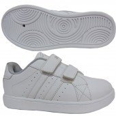 SNEAKER SCHOOL SHOES STYLE NO. 5819 WHITE