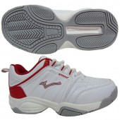 SNEAKER SCHOOL SHOES STYLE NO.2 013A-1E WHITE-RED