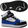 SNEAKER SCHOOL SHOES STYLE NO.6211-1E BLACK-WHITE-BLUE