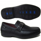 BOY SCHOOL SHOES STYLE NO.1408C-1G BLACK