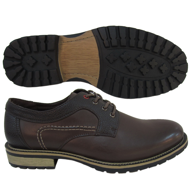 MEN SHOES STYLE NO.2197F-1-12K DR BROWN